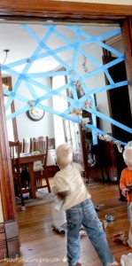 spider-web-activity-in-the-doorway-using-tape-322x650-149x300