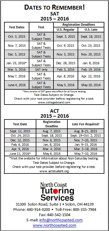SAT-ACT-test-dates