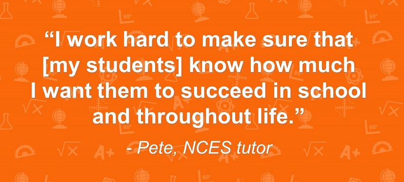 Pete -- Tutor Quote